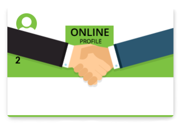 Set up your online profile